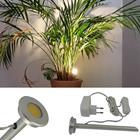 LED Pflanzenlampe aus Aluminium - 3 Watt. Zum Beleuchten von Zimmerpflanzen